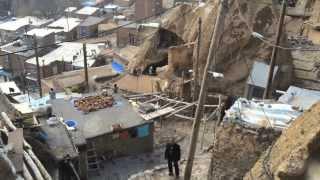 ► The beautiful rocky village Kandovan in IRAN - کندوان تبريز آذربايجان