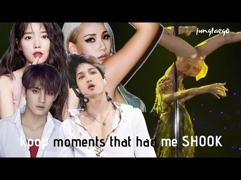 kpop moments that had me shook part 2