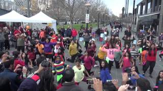 Indian Music And Dance Festival Bollywood Flash Mob  - SHIAMAK Melbourne