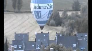 Landing D-OAAZ Heteluchtballon