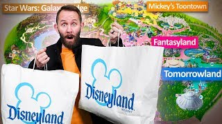 "Buying & Trying A Product From Every ""Land"" in Disneyland!"
