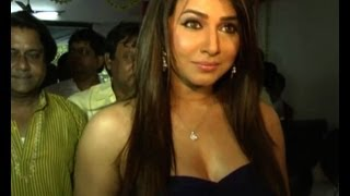 Hot actress Pakhi Hegde at a mahurat of Bhojpuri film