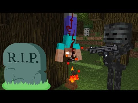 Xxx Mp4 Monster School Herobrine DIES And Becomes ZOMBIE Horror Minecraft Animation 3gp Sex