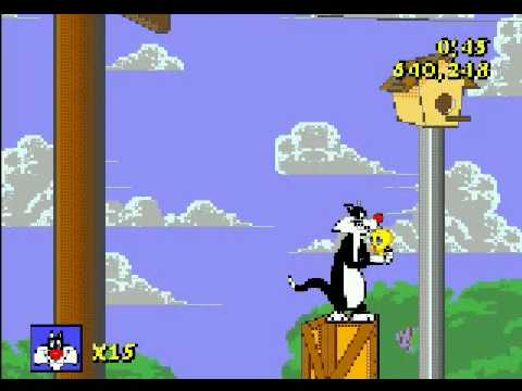 Sylvester and Tweety in Cagey Capers Genesis Part 1