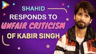 Shahid Kapoor's Reply To Critics & Haters Who Bashed Kabir Singh | Sandeep Reddy Vanga