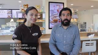 Visiting Stuffies Pastries Cafe in North Vancouver