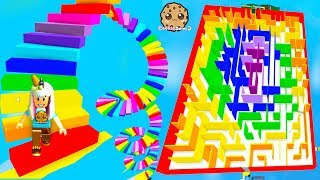 Easiest Obby Ever? Rainbow Shape Obstacle Course Roblox Video