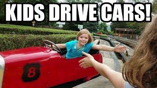 KIDS DRIVING CARS! Race track for kids! Noah's Ark Funhouse | Babyteeth More!