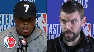 Kyle Lowry blames defense, Marc Gasol says he 'played really bad' in Game 2   2019 NBA Playoffs