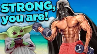 Is Darth Vader REALLY That STRONG?! | The SCIENCE of... Star Wars