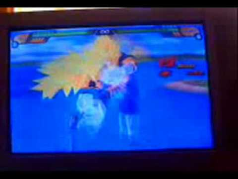 Jogando Dragon Ball Z Budokai Tenkaichi 3 fusões ps2 portugues part 1 video 2