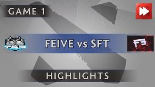 Feive eSports vs SFTe-sports [Game 1] ProDotA Cup Series by Azubu.tv - Dota Highlights