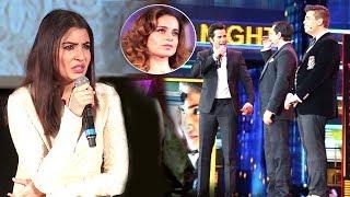 Anushka Sharma's Reaction On Kangana's Nepotism INSULT At IIFA Awards 2017 By Varun,Karan & Saif