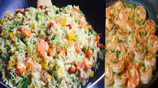 Comment faire le meilleurs riz sauté aux crevettes  (facile)