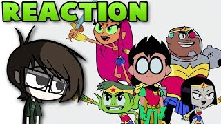 REACTION - Teen Titans Go! To the Movies teaser trailer