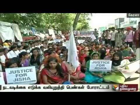 Xxx Mp4 Protest Against Sexual Abuse Murder Of Law Student In Kerala 3gp Sex