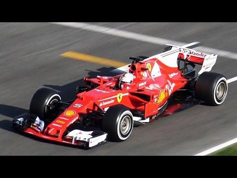 Sebastian Vettel Ferrari SF70 H F1 2017 Test by Jaume Soler