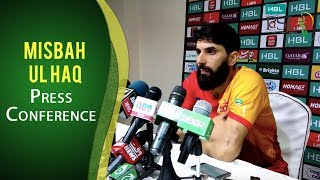 PSL 2017 Playoff 2: Misbah-ul-Haq Press Conference