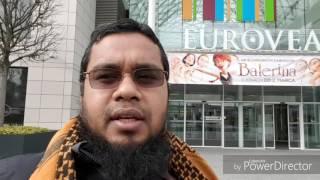 Bratislava Tour, 26 February 2017 Shaikh Abdul Matin Azhari with Shaikh Sayedur Rahman Azhari