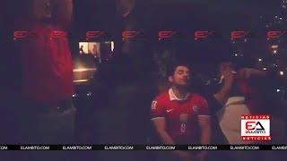 BRASIL 3-0 CHILE: REACCIÓN DE HINCHA CHILENO QUE PARTE EL TELEVISOR