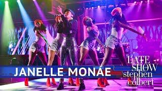 Janelle Monae Performs