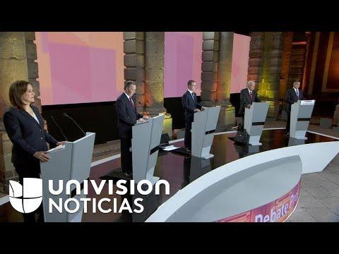 Xxx Mp4 Así Fue El Primer Debate Presidencial En México 3gp Sex
