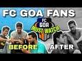 FC GOA FANS ❤2018 😁✌• ISL 2018 • Tiki taka • Fc goa vs delhi dynamo