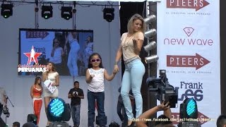 Leslie SHAW sexy hot desfile jeans Celebridades PERUANAS