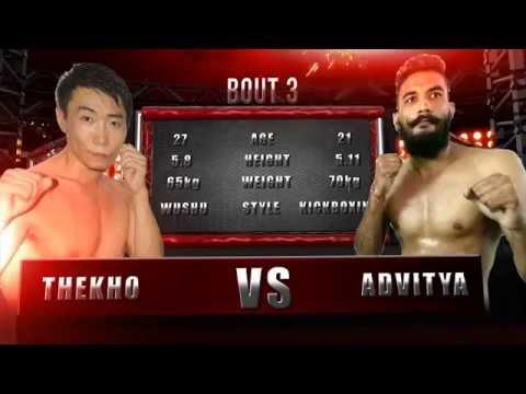 Amateur MMA India : Thekho vs Advtya