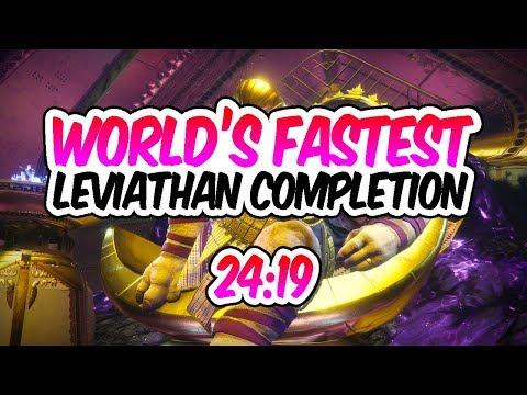 Xxx Mp4 Destiny 2 LEVIATHAN SPEEDRUN WORLD RECORD 24 19 Fastest Leviathan Raid 3gp Sex