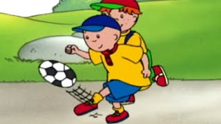 Caillou - Caillou The Footballer | Full Episodes | Funny Animated Cartoons for Kids | Kids TV Shows