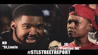 **KD vs JC   FULL Battle Hosted by Aye Verb [@STLSTREETREPORT]