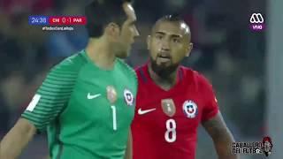 Así narraron en  Chile la goleada