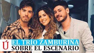 El trío Zamburiña conquista Land Rober: Miriam, Roi y Cepeda tras Operación Triunfo 2017