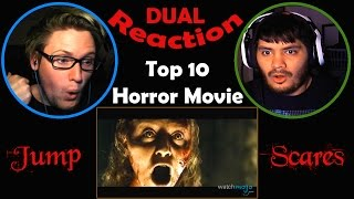 Top 10 Horror Movie Jump Scares DUAL REACTION! | NOSTALGIA! |