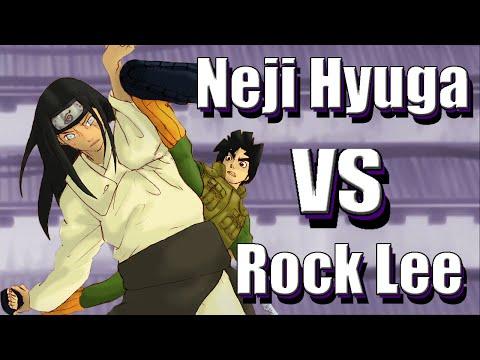 watch ☯Neji Hyuga vs Rock Lee! | Who would Win? | Episode 1
