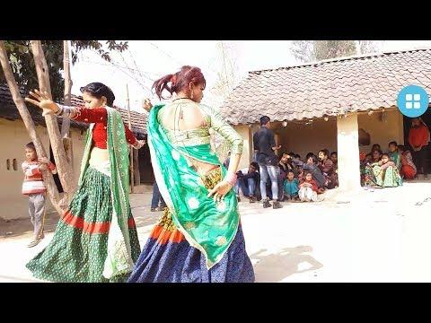 Tharu hot wedding dance