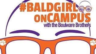 Bald Girl Clemson & the Boulware Brothers