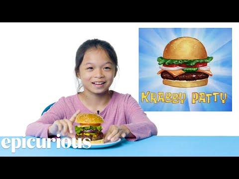 Kids Try Famous Foods From Cartoons From Spongebob to The Simpsons