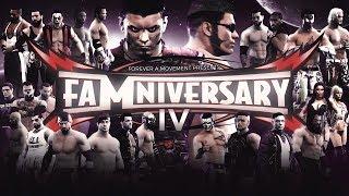 FaMniversary IV - WWE 2K Games (Full PPV)