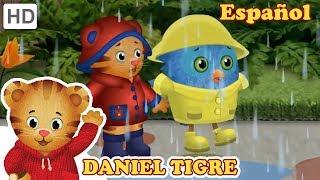 Daniel Tigre en Español -  Iluvia Iluvia Vete Ya