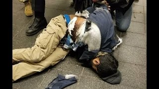 Pipe bomb explodes' at New York's Port Authority  Suspect 'wearing wires' is taken into custody