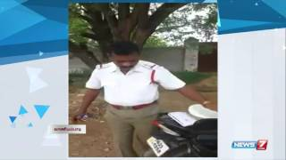 Leaked Video: Traffic police gets bribe at Vellore | Tamil Nadu | News7 Tamil |