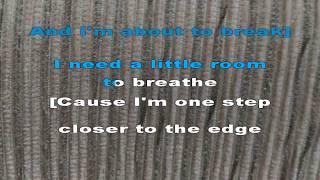 Linkin Park - One Step Closer (Karaoke Lyrics)