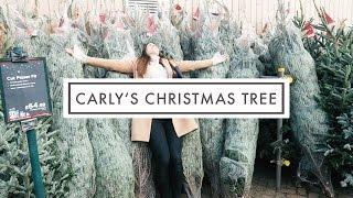 CARLYS CHRSITMAS TREE - VLOGMAS #1