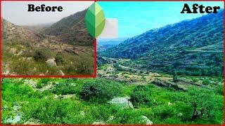 Snapseed editing tutorial | Landscape photo editing