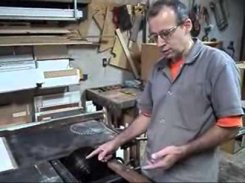 Ajustando uma Esquadrejadeira Verry 1 2 Elias Leão