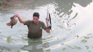 صيد السمك والدراج على الطريقة السعودية