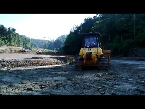 Land Clearing Smelter Plant PT Feni Haltim North Maluku