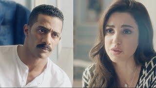 فيروز تعترض علي وجود الطفل في المنزل - مسلسل نسر الصعيد - محمد رمضان